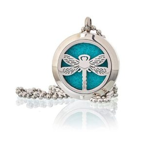 Aromatherapy Diffuser Dragonfly Necklace