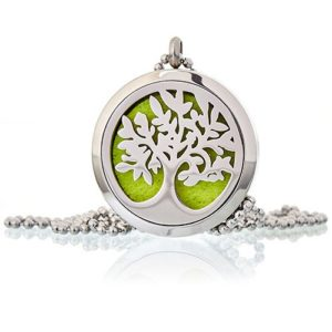 Aromatherapy Diffuser Tree Necklace